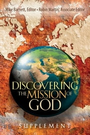 Discovering the Mission of God Supplement ebook by Robin Martin,Mike Barnett