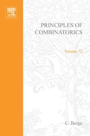 Principles of Combinatorics ebook by Berge