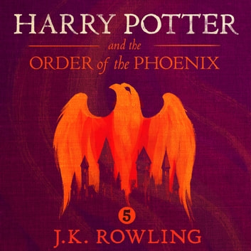 Harry Potter and the Order of the Phoenix audiobook by J.K. Rowling,Olly Moss
