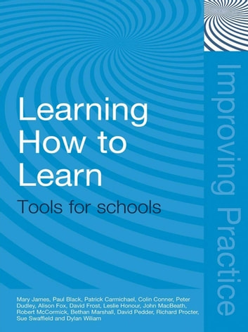 Learning How to Learn - Tools for Schools ebook by