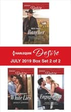 Harlequin Desire July 2019 - Box Set 2 of 2 ebook by Maureen Child, Jessica Lemmon, Tessa Radley