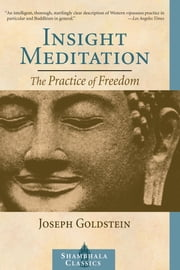 Insight Meditation - A Psychology of Freedom ebook by Joseph Goldstein