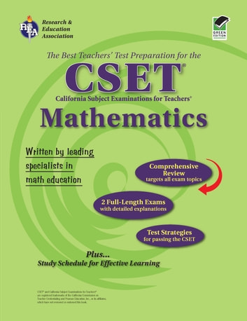 CSET Mathematics Grades 7-12 ebook by Editors of REA
