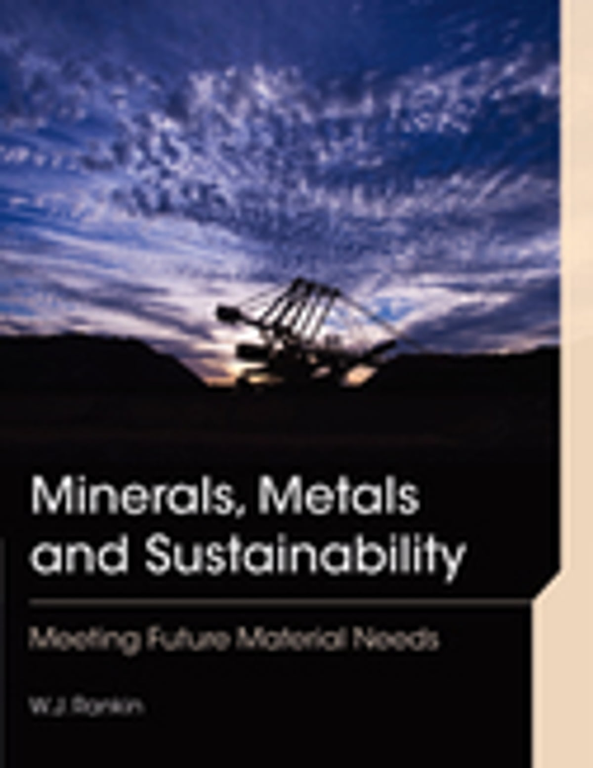 Minerals Metals And Sustainability Ebook By Wj Rankin