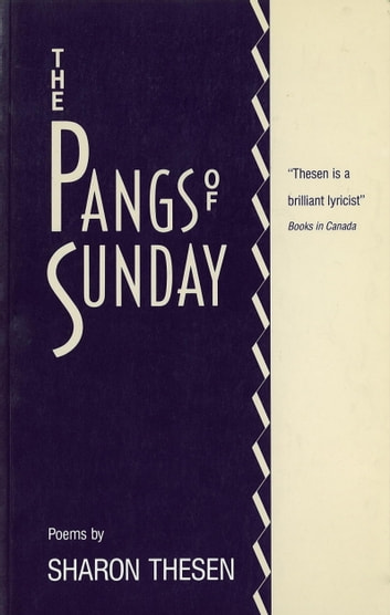 The Pangs of Sunday ebook by Sharon Thesen