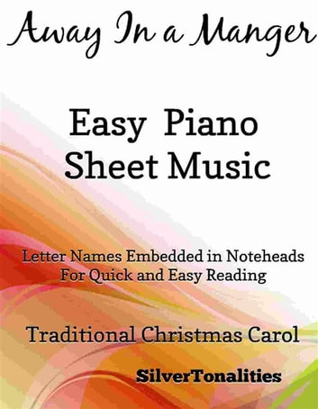 Away In a Manger Easy Piano Sheet Music