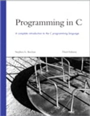 Programming in C ebook by Stephen G. Kochan