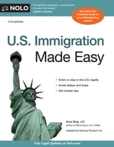 U.S. Immigration Made Easy ebook by Ilona Bray J.D.
