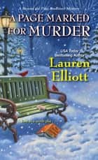 A Page Marked for Murder ebook by Lauren Elliott