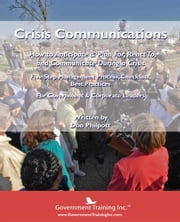 Crisis Communications ebook by Philpott, Don