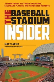 The Baseball Stadium Insider: A Dissection of All Thirty Ballparks, Legendary Players, and Memorable Moments ebook by Lupica, Matt