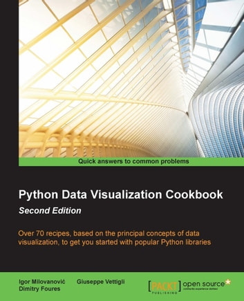 Python Data Visualization Cookbook - Second Edition ebook by Igor Milovanovic,Dimitry Foures,Giuseppe Vettigli