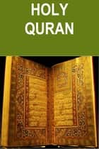 The Koran ebook by Allah