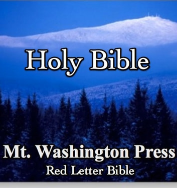 The Holy Bible: Red Letter Bible ebook by
