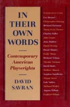 In Their Own Words ebook by David Savran