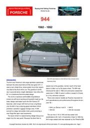 Porsche 944 Buying Guide ebook by Mellor, Chris