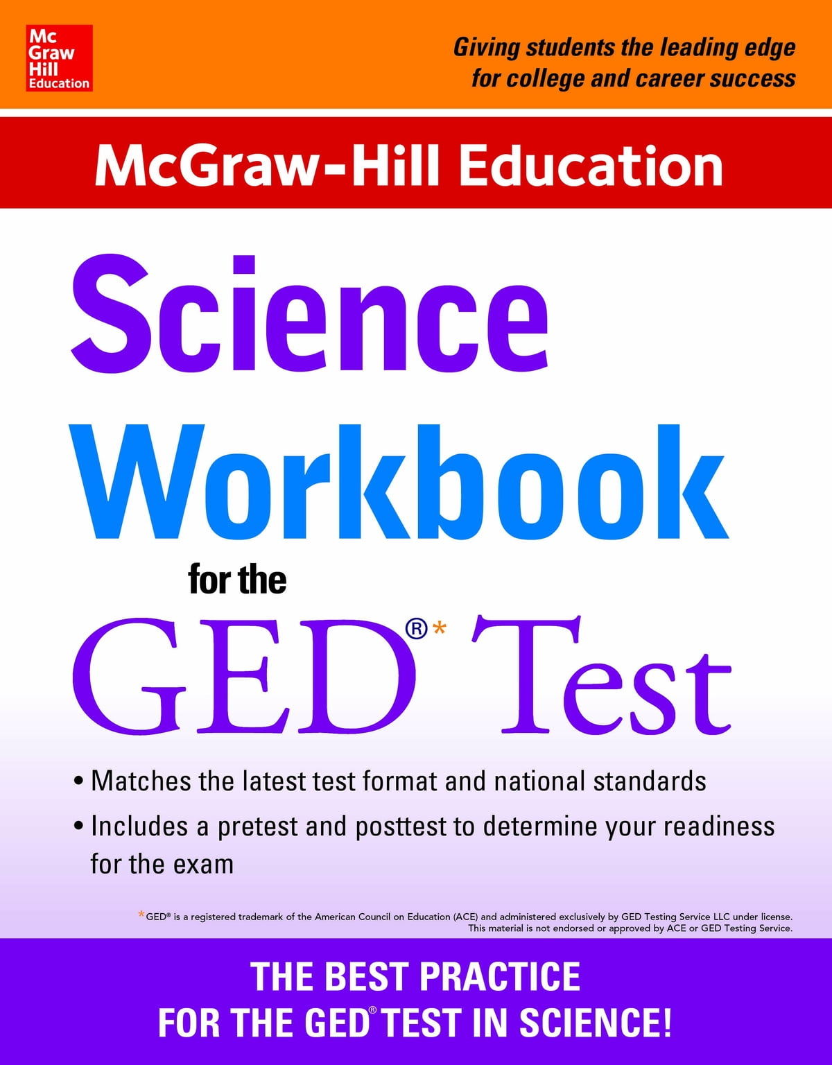 Workbooks mcgraw hill workbook : McGraw-Hill Education Science Workbook for the GED Test eBook by ...