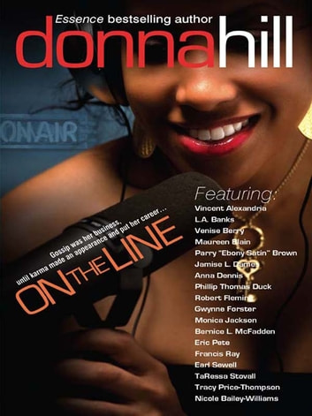 On the Line ebook by Donna Hill