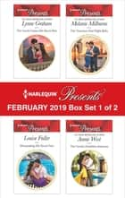 Harlequin Presents - February 2019 - Box Set 1 of 2 - An Anthology 電子書 by Lynne Graham, Louise Fuller, Melanie Milburne,...
