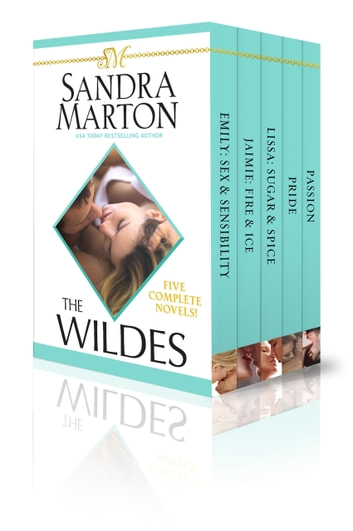 The Wildes: Five Complete Novels! ebook by Sandra Marton