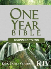 One Year Bible Beginning to End, King James Version (KJV), Search by Verse Enabled ebook by Avalon Publishers
