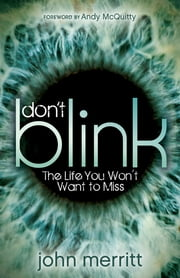 Don't Blink - The Life You Won't Want to Miss ebook by John Merritt,Andy McQuitty
