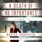 A Death of No Importance - A Mystery audiobook by Mariah Fredericks, Stephanie Willis