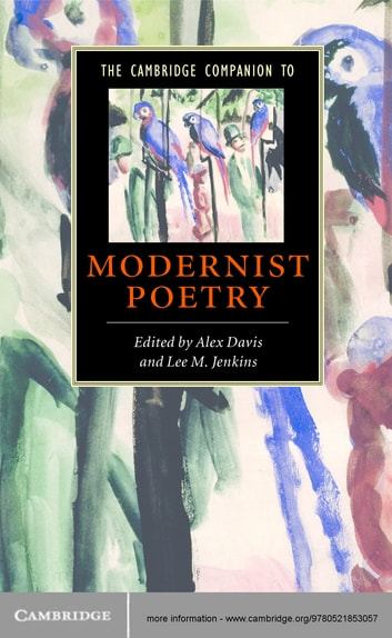 The Cambridge Companion to Modernist Poetry ebook by