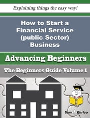 How to Start a Financial Service (public Sector) Business (Beginners Guide) ebook by Avery Puente,Sam Enrico