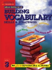 Building Vocabulary Skills and Strategies Level 3 ebook by Suter, Joanne