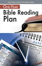 One-Year Bible Reading Plan ebook by Rose Publishing