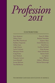 Profession 2011 ebook by Sidonie Smith, David Palumbo-Liu, Franoise Lionnet,...
