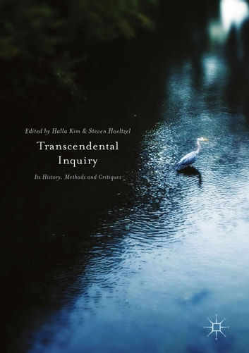 Transcendental Inquiry - Its History, Methods and Critiques ebook by
