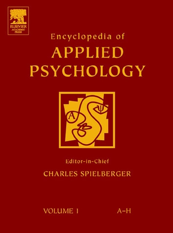 Encyclopedia of Applied Psychology ebook by Charles Spielberger