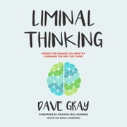 Liminal Thinking - Create the Change You Want by Changing the Way You Think audiobook by Dave Gray
