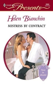 Mistress by Contract ebook by Helen Bianchin