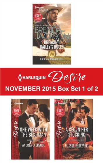 Harlequin Desire November 2015 - Box Set 1 of 2 - An Anthology 電子書 by Brenda Jackson,Andrea Laurence,Elizabeth Bevarly