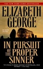 In Pursuit of the Proper Sinner eBook by Elizabeth George