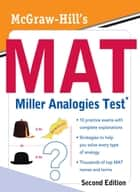 McGraw-Hill's MAT Miller Analogies Test, Second Edition ebook by Zahler
