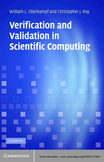 Verification and Validation in Scientific Computing ebook by William L. Oberkampf,Christopher J. Roy