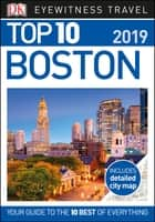Top 10 Boston ebook by DK Travel