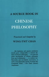 A Source Book in Chinese Philosophy ebook by Chan, W.