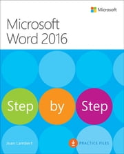 Microsoft Word 2016 Step By Step ebook by Joan Lambert