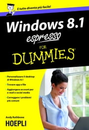 Windows 8.1 espresso For Dummies ebook by Andy Rathbone