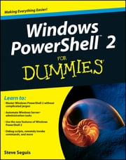 Windows PowerShell 2 For Dummies ebook by Steve Seguis