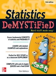 STATISTICS DEMYSTIFIED 2/E ebook by Stan Gibilisco
