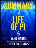 Summary of Life of Pi ebook by SpeedyReads