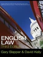 English Law ebook by Gary Slapper, David Kelly