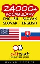 24000+ Vocabulary English - Slovak ebook by Gilad Soffer
