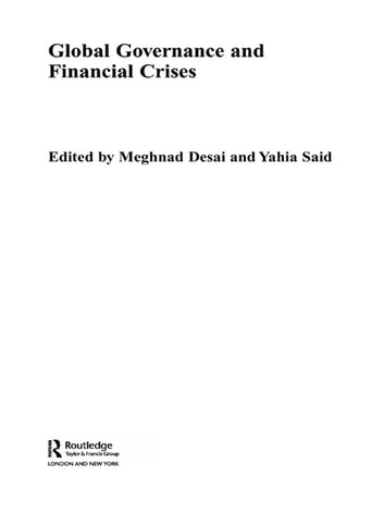 Global Governance and Financial Crises ebook by